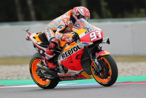 Merciless Marquez dismisses Dovizioso challenge for Czech MotoGP win