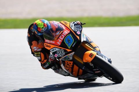 Jerez Moto2 test times - Wednesday (Session 1)