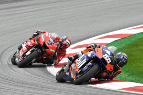 Official: Petrucci to Tech3 KTM, Oliveira replaces Espargaro
