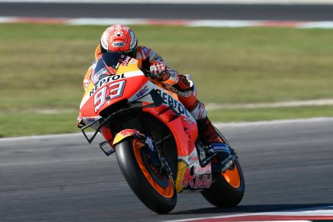 Marquez leaves it late to beat Quarataro to Misano victory