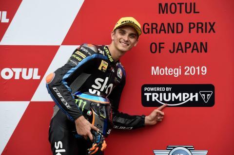 Moto2 Motegi: Back-to-back victories for Marini after Japan win