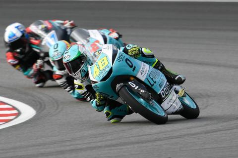 Moto3 Sepang: Superb Dalla Porta makes it three in a row