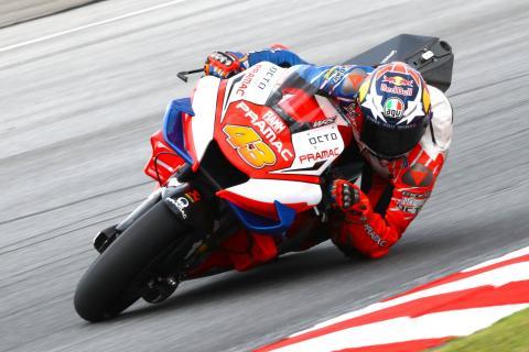 Sepang MotoGP test times - Saturday (2pm)