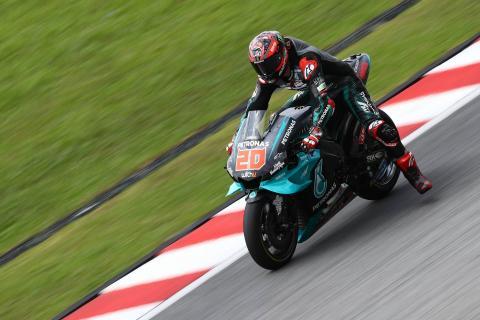 Sepang MotoGP test times - Friday (5pm)
