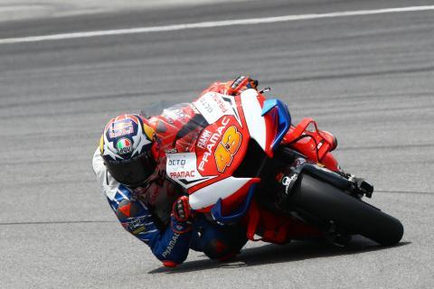 Sepang MotoGP test times - Saturday (12pm)