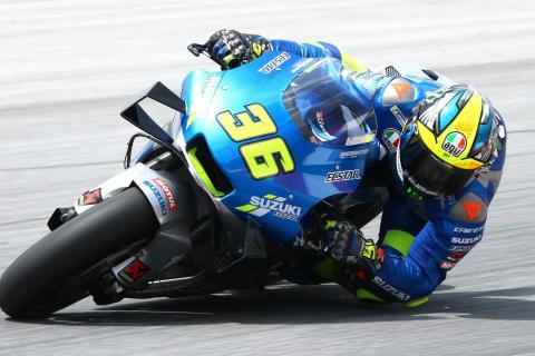 Sepang MotoGP test times - Saturday (11am)