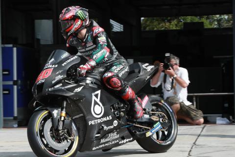 Quartararo: In one lap we're fast, but…