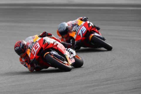 Marquez: 'Full aggression' for 'fun' Virtual Race