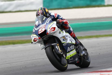 Zarco: Difficult to learn new things but I'm very motivated