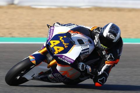 Jerez Moto2 test times - Thursday (Session 1)