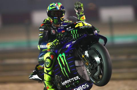 '2-3 races' enough for Rossi to know level