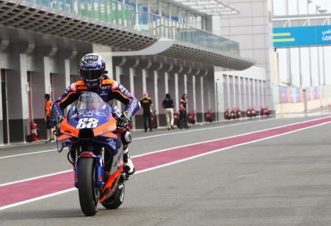 Oliveira: Time attack, pace difference 'scary but positive'