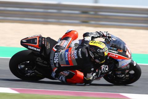 Qatar Moto2 test times - Friday (Session 1)