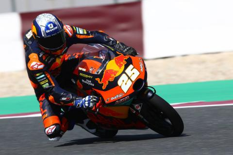 Qatar Moto3 test times - Saturday (Session 1)