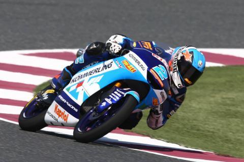 Qatar Moto3 test times - Saturday (Session 2)