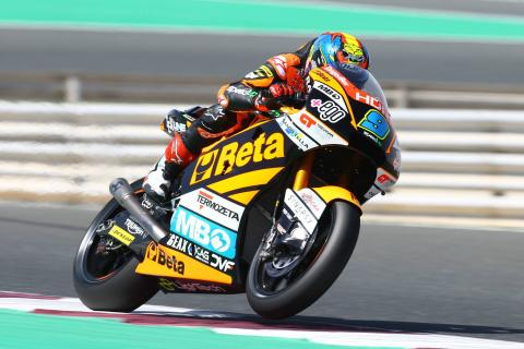 Qatar Moto2 test times - Sunday (FINAL)
