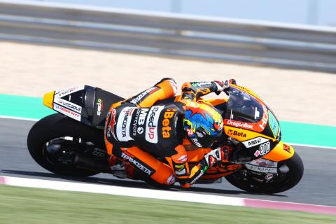 Qatar Moto2 test times - Sunday (Session 1)