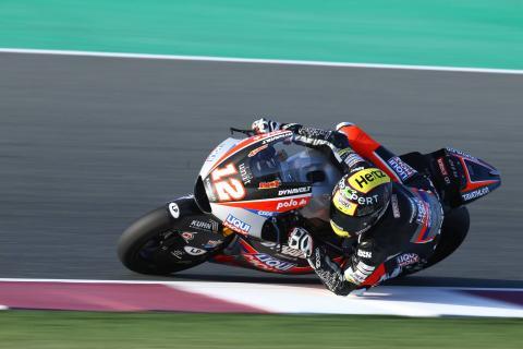 Qatar Moto2 test times - Saturday (Session 1)
