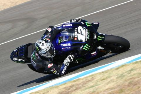 Jerez MotoGP test times - Session 2