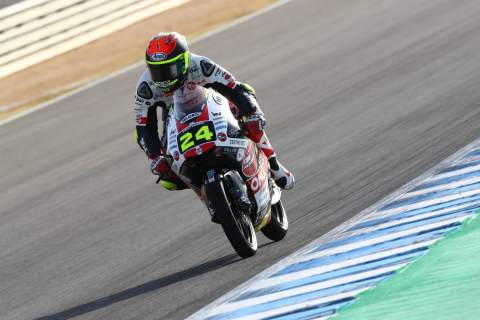 Moto3 Jerez - Warm-up Results