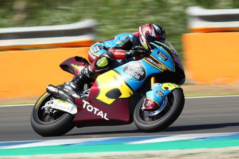 Moto2 Andalucia - Warm-up Results
