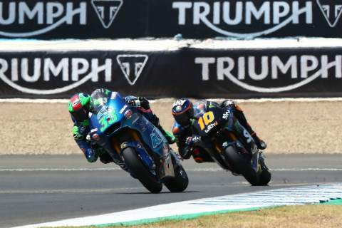 Bastianini wins Moto2 2020 Andalucia race in Jerez