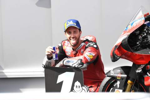 Ducati 'treasure' Dovizioso success but time to 'turn page'