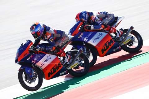 Moto3: Tech 3 re-signs Oncu, Sasaki for 2021 Moto3