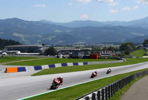 Styrian MotoGP - Warm-up Results