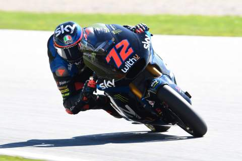 Moto2 Styria: Bezzecchi claims first win after Martin demotion