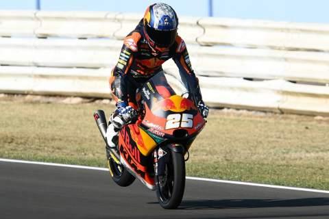 Raul Fernandez, San Marino Moto3. 11September 2020