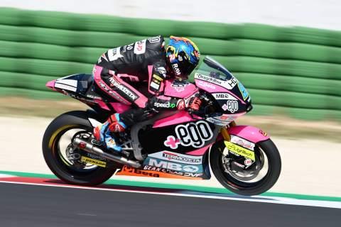 Jorge Navarro, San Marino Moto2. 12September 2020