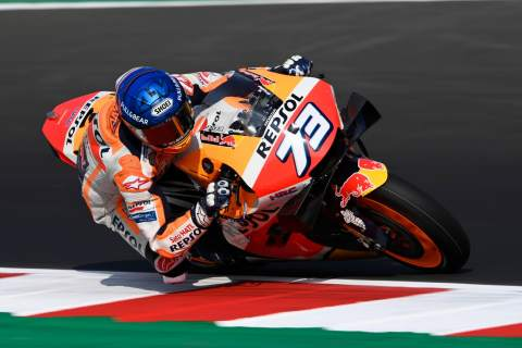 Emilia Romagna MotoGP - Warm-up Results