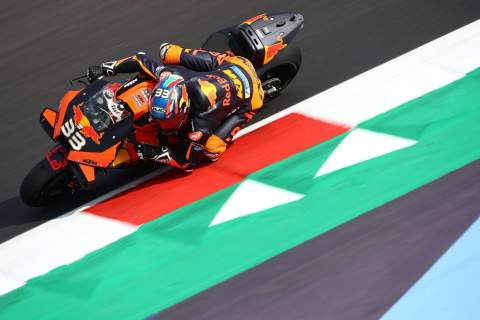 Brad Binder , Emilia Romagna MotoGP. 18 September 2020
