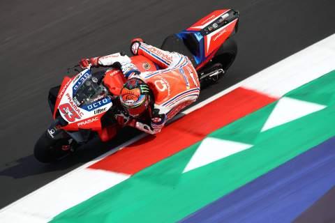 Francesco Bagnaia , Emilia Romagna MotoGP. 18 September 2020