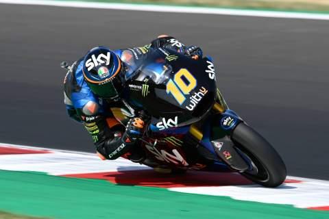 Moto2 Emilia Romagna: Marini storms to pole with lap record
