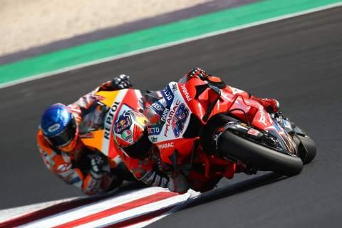 Emilia Romagna MotoGP - Qualifying (1) Results