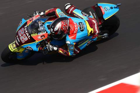 Sam Lowes , Moto2, Emilia Romagna MotoGP. 18 September 2020