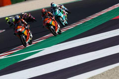 Moto3 Emilia Romagna - Warm-up Results