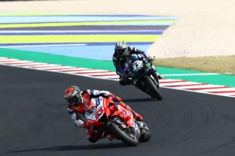 Francesco Bagnaia Emilia Romagna MotoGP. 20 September 2020