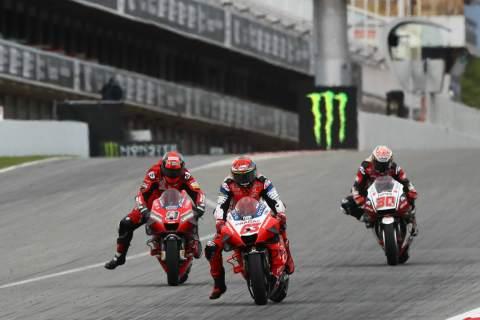 Francesco Bagnaia , Catalunya MotoGP. 27 September 2020