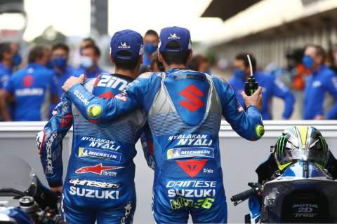 """Suzuki MotoGP Tak Ingin Bangun """"Tembok"""" Antar Pembalap"""
