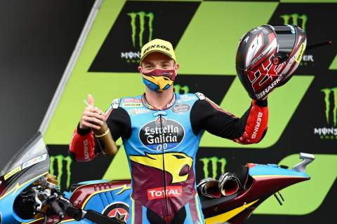 How 'calmer' Sam Lowes is getting in the Moto2 'flow'