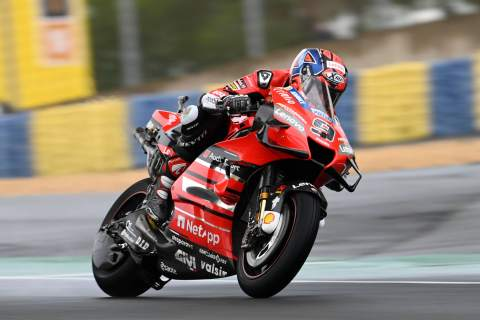 Danilo Petrucci, French MotoGP. 9 October 2020