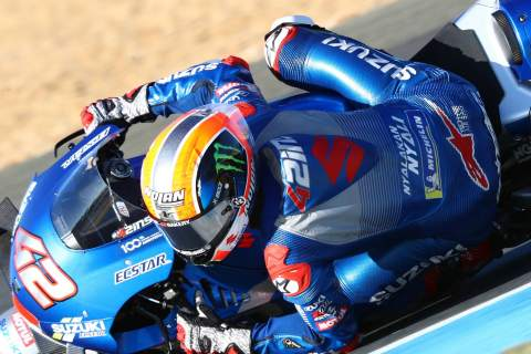 Alex Rins, French MotoGP, 10 October 2020