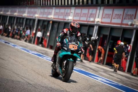 Quartararo: Good test, new parts, engine problems remain