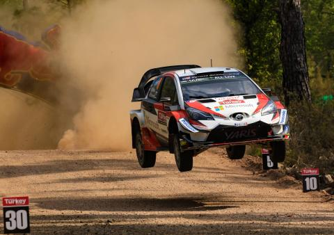 Tanak seals WRC hat-trick to close in on Neuville