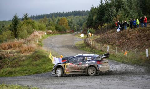 Wales Rally GB - Classification after SS18