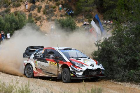 RallyRACC Catalunya - Classification after SS14