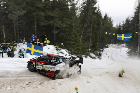 Rally Sweden - Classification after SS4